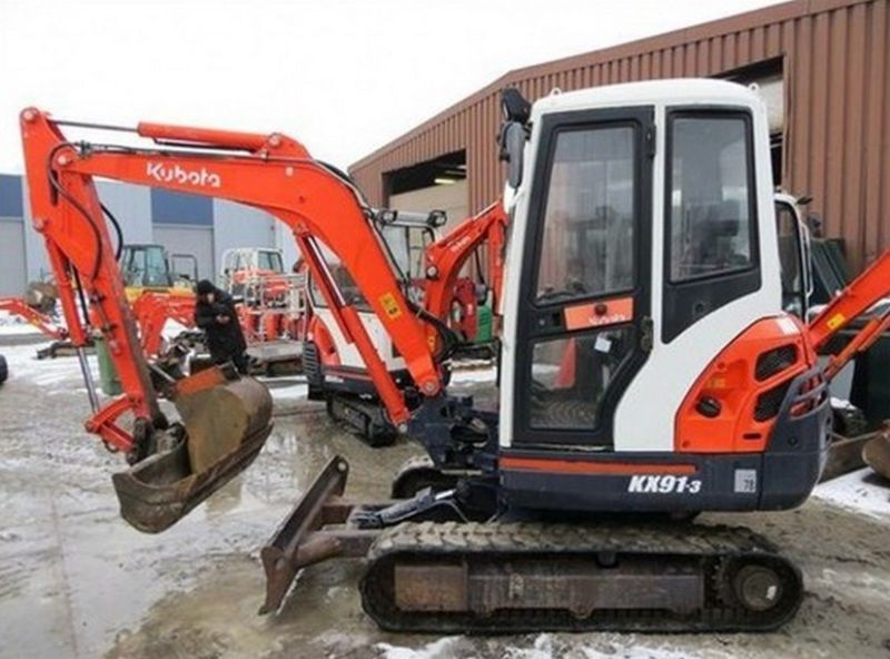 Kubota Excavator Parts : Kubota excavator mini digger parts manuals many