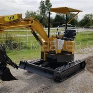 ihi 18uj mini excavator trackhoe backhoe dozer with thumb isuzu rh all excavators com